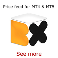 Market data price feed for MT4 & MT5