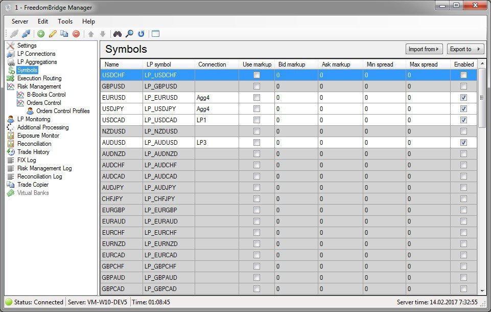 uBridge for Metatrader 5 / Metatrader 4 (FIX Bridge or FIX